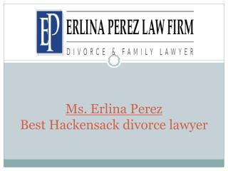 Ms. Erlina Perez - Best Hackensack Divorce Lawyer