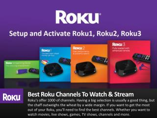 How to add best channels on Roku Player?