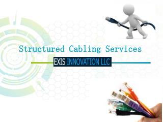 Structured Cabling Design Services