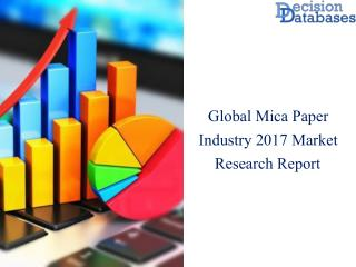 Global Mica Paper Market Analysis 2017 Latest Development Trends