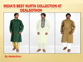 India's best kurta collection at dealsothon