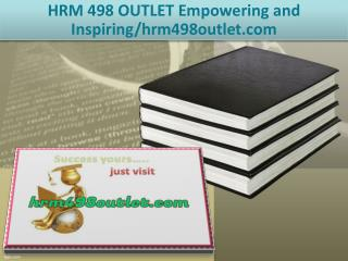 HRM 498 OUTLET Empowering and Inspiring/hrm498outlet.com