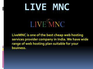 Hire Best Virtual Private Cloud Server at LiveMNC