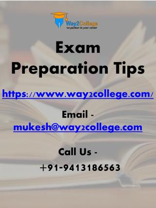 Exam Preparation Tips