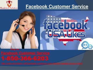Are you Searching for the Facebook Customer Service? Dial 1-850-366-6203