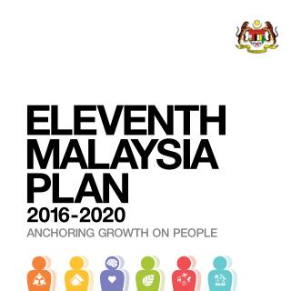 11th MALAYSIA PLAN (2016-2020)