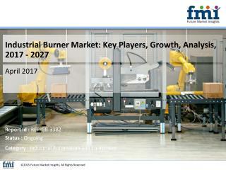 Industrial Burner Market : In-Depth Market Research Report 2017 – 2027