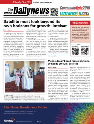 CommunicAsia Daily News - Day 1
