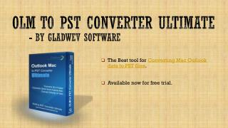 OLM to PST Converter Ultimate Free Version