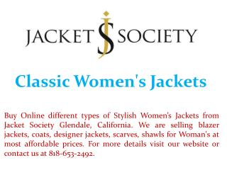 Classic Women's Jackets