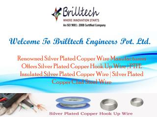 Silver Plated Copper Wire Manufacturers
