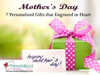 Mother's day 7 personalized gifts that engraved in heart