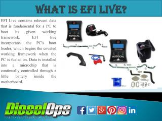 What Is EFI Live?