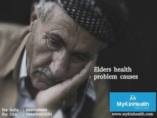 Major cause of illness in elders