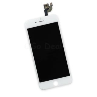 For Apple iPhone 6 Digitizer and LCD Screen Assembly with Frame Replacement - White TM