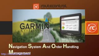 Navigation System And Order Handling Management