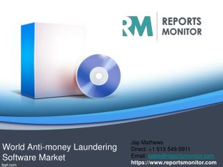 Review of Anti-Money Laundering Software Market