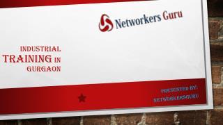 industrial training in gurgaon India