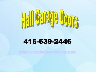 Garage Door Repair Toronto – Installation, Maintenance & Replacement Services