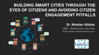Building Smart Cities Through the Eyes of Citizens