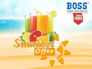 BOSS Home Appliances Summer Offer
