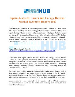 Spain Aesthetic Lasers and Energy Devices Market Research Report 2023