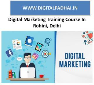 Digital Marketing Course & Training Institute Rohini,Delhi