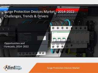 Surge Protection Devices Market - 2014-2022: Challenges, Trends & Drivers