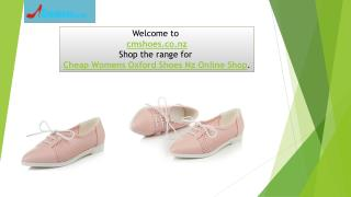 Cheap Womens Oxford Shoes Nz Online Shop