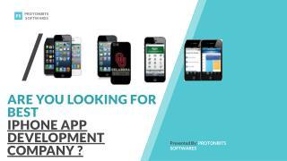 Iphone App Development Company - ProtonBits Softwares