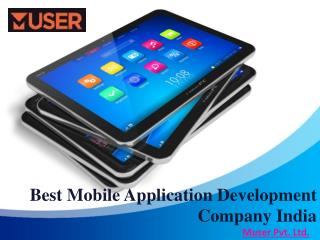 Best Mobile Application Development Company India