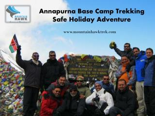 Popular Annapurna Trekking Tourist Place in Nepal