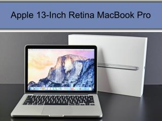 Apple 13 inch retina Mac book pro