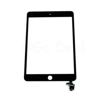 For iPad Mini 3 Glass and Digitizer Assembly with IC chip Replacement - Black