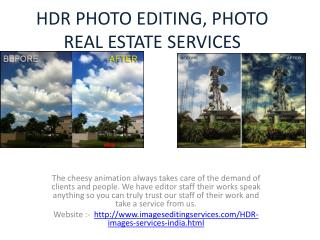 HDR PHOTO EDITING, PHOTO REAL ESTATE SERVICES
