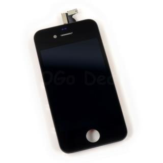 For Apple iPhone 4 CDMA Digitizer and LCD Screen Assembly with Frame Replacement - Black