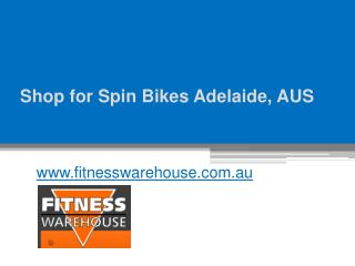 Shop for Spin Bikes Adelaide, AUS - www.fitnesswarehouse.com.au