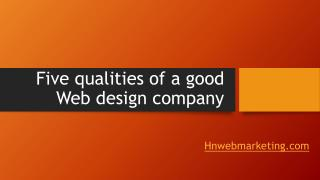 Web Design Company | Website Design Company pune | Hnwebmarketing