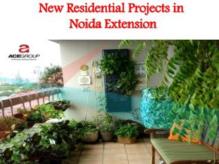 New Residential Projects in Noida Extension - ACE Group