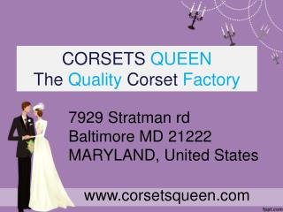 Corsets Queen - Easter Sale - Flat 50% OFF - Corsets Collection