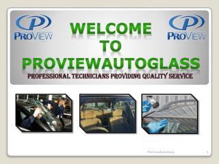 Affordable Auto Glass Repair Services Phoenix