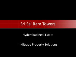 Sri  Sai  Ram Towers