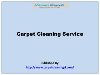Dream Carpets-Carpet Cleaning Service