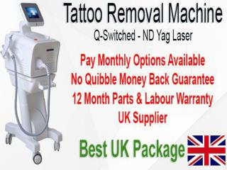 Multi Colour Tattoo Removal & Tattoo Removal Laser Machine Marshall's
