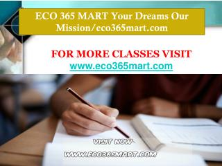 ECO 365 MART Your Dreams Our Mission/eco365mart.com