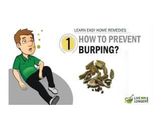 Best Home Remedies for Burping