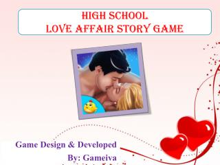 High School Love Affair Story Game