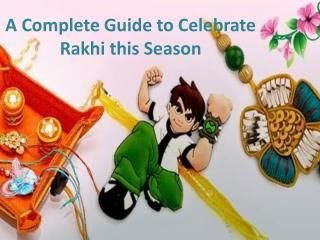 Send Rakhi to USA At Rakhi 2017