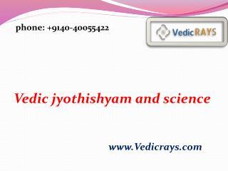 Vedic jyothishyam and science