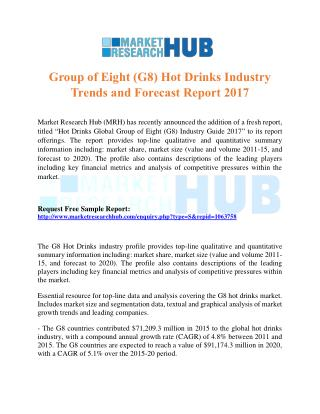 Group of Eight (G8) Hot Drinks Industry Trends and Forecast Report 2017